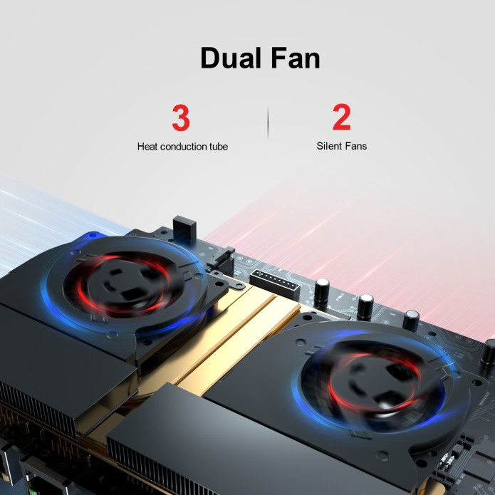 Beelink GTR Pro dual fan