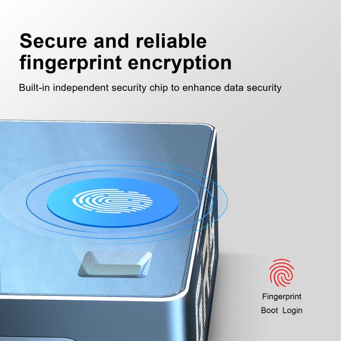 Beelink GTR Pro fingerprint