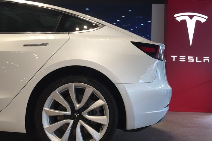 Tesla becomes top selling EV brand in China