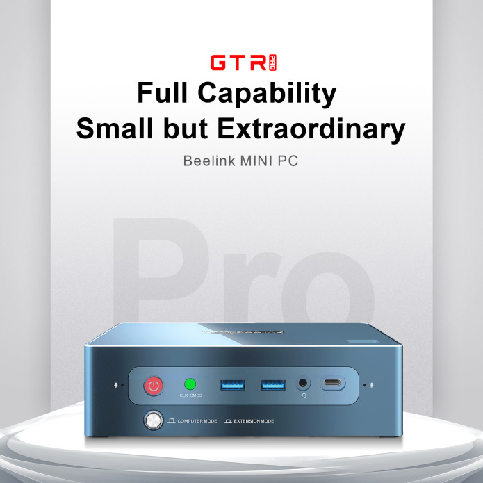 beelink gtr pro – the perfect ryzen mini pc is on indigogo with 40% discount