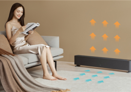 Xiaomi releases the MIJIA Baseboard Electric Heater 1S